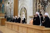 Предстоятель Русской Церкви подвел итоги Патриаршего служения в 2015 году