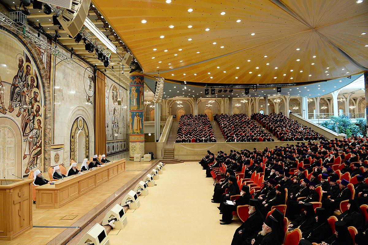 Епархиальное собрание г. Москвы 21 декабря 2015 года