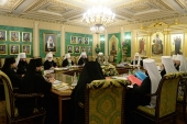 ЖУРНАЛЫ заседания Священного Синода от 24 декабря 2015 года