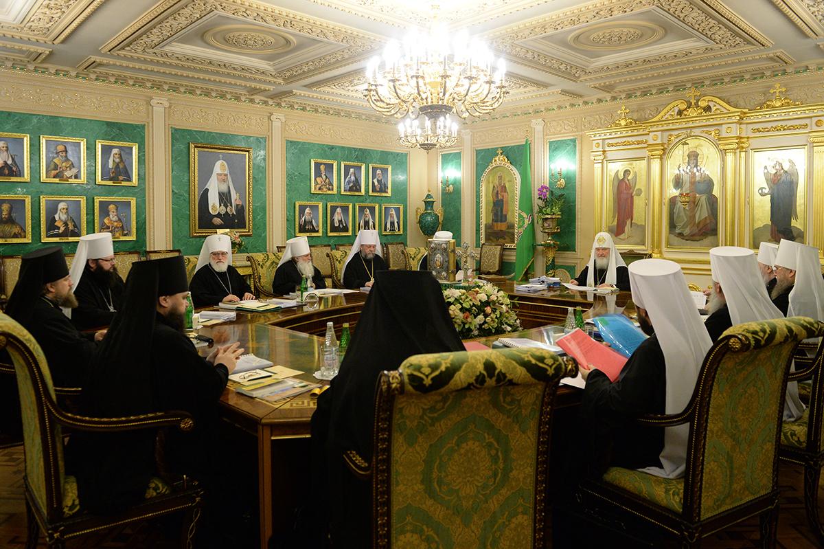 Заседание Священного Синода от 24 декабря 2015 года