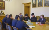 Заместитель председателя ОВЦС встретился с представителем руководства Организации исламской культуры и связей Ирана
