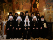 Слово Святейшего Патриарха Кирилла после Литургии в Сретенском ставропигиальном монастыре города Москвы