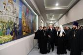 Святейший Патриарх Кирилл и мэр Москвы С.С. Собянин возглавили открытие исторического парка на ВДНХ