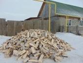 В Каменской епархии завершилась акция «Подари дрова», организованная при помощи православной службы «Милосердие»