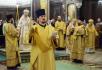 Молебное пение на новолетие в Храме Христа Спасителя