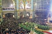 1 января в Почаевской лавре прошли торжества, посвященные 45-летию преставления преподобного Амфилохия Почаевского