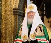 Слово Святейшего Патриарха Кирилла после Литургии в Успенском соборе Московского Кремля в Неделю пред Рождеством Христовым