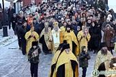 В день памяти святителя Петра в центре Москвы прошел крестный ход