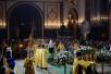Великая вечерня в праздник Рождества Христова в Храме Христа Спасителя в Москве