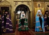 Проповедь Святейшего Патриарха Кирилла в праздник Собора Пресвятой Богородицы после Литургии в Успенском соборе Московского Кремля