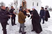 В День милосердного отношения к заключенным глава Белгородской митрополии освятил храм на территории исправительной колонии
