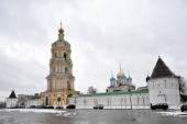 La mănăstirea stavropighială Novospasski au fost aduse moaștele sfântului întocmai cu apostolii cneaz Vladimir