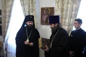 Архиепископ Пятигорский Феофилакт представил обновленный музей Успенского Второафонского мужского монастыря на горе Бештау