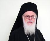 Святейший Патриарх Кирилл поздравил Предстоятеля Албанской Православной Церкви с днем тезоименитства