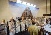 Предстоятели Поместных Православных Церквей совершили Литургию в храме святого апостола Павла в Шамбези
