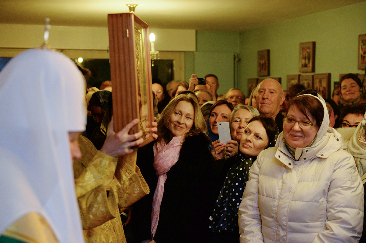 Визит Святейшего Патриарха Кирилла в Швейцарию. Посещение представительства Московского Патриархата при Всемирном совете церквей в Женеве