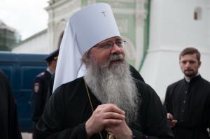 Поздравление Святейшего Патриарха Кирилла Митрополиту всей Америки и Канады Тихону с годовщиной интронизации