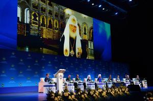 Обращение Святейшего Патриарха Кирилла к участникам и гостям XXIV Международных Рождественских чтений