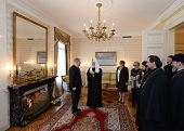 В Представительстве Российской Федерации при ООН в Женеве был дан торжественный обед в честь Святейшего Патриарха Кирилла