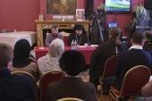 В Первой Градской больнице обсудили вопросы организации церковной помощи бездомным