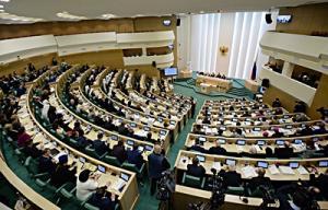 Святейший Патриарх Кирилл принял участие в Рождественских парламентских встречах в Совете Федерации