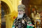 Слово Святейшего Патриарха Кирилла в седьмую годовщину интронизации в Храме Христа Спасителя