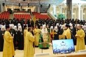 Святейший Патриарх Кирилл призвал Полноту Русской Церкви продолжить молиться о мире на Украине