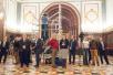 Создание общей фотографии участников Архиерейского Собора 2-3 февраля 2016 года
