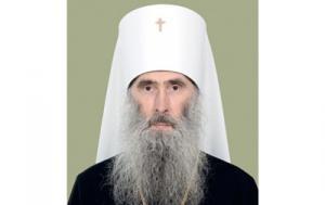Патриаршее поздравление митрополиту Тернопольскому Сергию с 25-летием архиерейской хиротонии