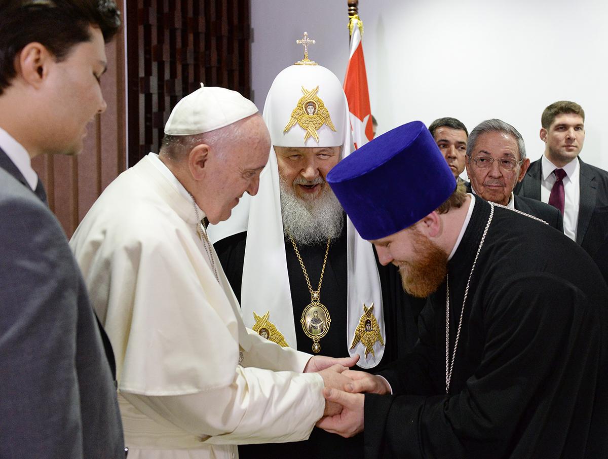 Визит Святейшего Патриарха Кирилла в Латинскую Америку. Встреча с Папой Римским Франциском (обновлено)