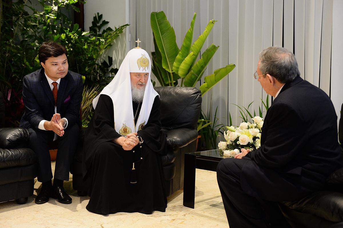 Визит Святейшего Патриарха Кирилла в Латинскую Америку. Завершение визита на Кубу, проводы в аэропорту Гаваны
