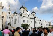 Предстоятель Русской Православной Церкви совершил Литургию в Казанском храме Гаваны