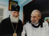 Святейший Патриарх Кирилл встретился в Гаване с Фиделем Кастро