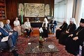 Святейший Патриарх Кирилл встретился с Президентом Бразилии Дилмой Русеф и посетил православный храм в столице страны