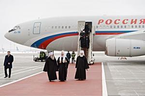 Святейший Патриарх Кирилл прибыл в Москву по завершении визита в страны Латинской Америки