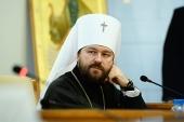 Митрополит Волоколамский Иларион: У встречи Папы и Патриарха будут далеко идущие последствия