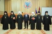 В Барнауле состоялась презентация книги «Митрополит Макарий (Невский). Апостол Алтая»