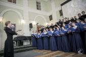 В Санкт-Петербургской духовной академии прошел общецерковный семинар по подготовке регентов церковных хоров