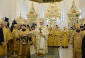 Святейший Патриарх Кирилл совершил освящение Александро-Невского храма при МГИМО