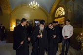 Святейший Патриарх Неофит посетил московское подворье Болгарской Православной Церкви