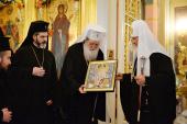 Слово Святейшего Патриарха Болгарского Неофита после Литургии в Покровском монастыре г. Москвы