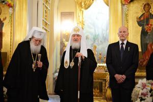 Слово Святейшего Патриарха Кирилла после Литургии в Покровском монастыре г. Москвы