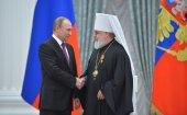 Президент России вручил ордена трем архиереям Русской Православной Церкви