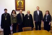 Председатель Синодального отдела по церковной благотворительности встретился с руководством благотворительной организации Сиро-Яковитской Церкви
