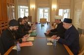Председатель ОВЦС встретился с первым заместителем председателя Духовного управления мусульман Российской Федерации