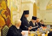 Состоялось заседание Патриаршей комиссии по вопросам семьи, защиты материнства и детства