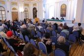 Юридическая служба Московской Патриархии провела семинар для представителей епархий СЗФО и религиозных организаций Петербурга