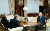 Состоялась встреча Патриаршего экзарха всея Беларуси митрополита Павла с Президентом Республики Беларусь А.Г. Лукашенко