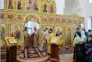 Освящение храма священномученика Ермогена, Патриарха Московского и всея Руси, в Крылатском. Литургия в новоосвященном храме