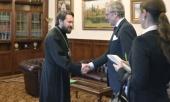 Председатель Отдела внешних церковных связей встретился с послом Германии в России